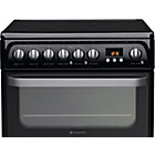 more details on Hotpoint HUE61K Electric Cooker - Black- Incl.Install.