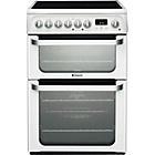 more details on Hotpoint HUE61P Electric Cooker White - Install.