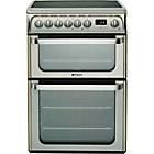 more details on Hotpoint HUE61X S/Steel Double Electric Cooker - Del/Recycle