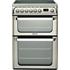 more details on Hotpoint HUE61X Double Electric Cooker - Instal/Recycle.