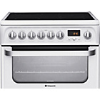 more details on Hotpoint HUE62P Electric Cooker White - Install.