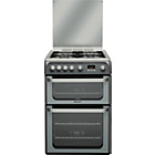 more details on Hotpoint HUG61G Double Gas Cooker - Ins/Recycle.