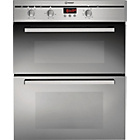 more details on Indesit FIMU23IX Double Electric Oven - S/Steel.
