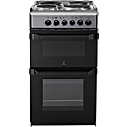 more details on Indesit IT50E1X Single Electric Cooker - Stainless Steel.