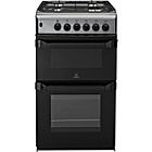 more details on Indesit IT50D1X Dual Fuel Cooker - Stainless Steel.