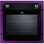 more details on New World NW601FP Single Electric Oven - Purple.