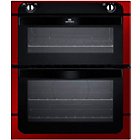 more details on New World NW701DOR Built-In Double Electric Oven - Red.
