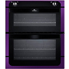 more details on New World NW701DOP Built-In Double Electric Oven - Purple.