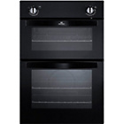 more details on New World NW901DOBLK Double Electric Oven - Black.