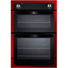 more details on New World NW901DOR Built-In Double Electric Oven - Red.