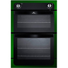 more details on New World NW901DOG Built-In Double Electric Oven - Green.