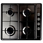 more details on New World NWGHU601 Gas Hob - Black.