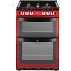 more details on New World 551GTCR Single Gas Cooker - Red.