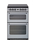 more details on New World 550TSIDOMS Double Gas Cooker - Silver.