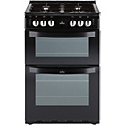 more details on New World 551GTCBLK Single Gas Cooker - Instal/Del/Recycle.