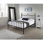 more details on Silentnight Sydney Black Double Bed Frame.