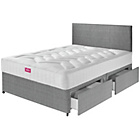 more details on Airsprung Elmdon Deep Ortho Double 4 Drw Divan Bed.