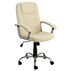 Walker Height Adjustable Office Chair - Ivory