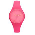 more details on Ice-Chamallow Ladies' Pink Silicone Strap Watch.