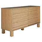 more details on Hygena Genoa 2 Door Slatted Sideboard.