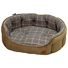 more details on Petface Check Large Pet Bed - Grey.