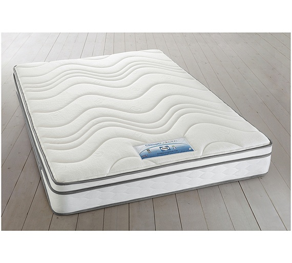 Buy sealy repose cushion top double mattress at for Online shopping for mattress