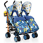 more details on Cosatto Supa Dupa Twin Stroller - Fox Tale.