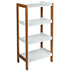 more details on 4 Tier Two Tone Shelf Unit.