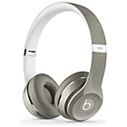 more details on Beats Solo2 On-Ear Headphones Luxe Edition - Silver.