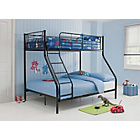 more details on Metal Triple Black Bunk Bed with Ashley Mattress.