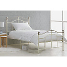 more details on Brynley Single Bed Frame - Ivory.