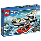 more details on LEGO City Police Patrol Boat - 60129.