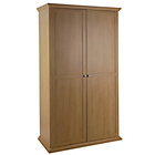 more details on Canterbury 2 Door Wardrobe - Oak effect