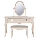 more details on Schreiber Longburton Dressing Table, Stool & Mirror - Cream.