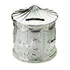 more details on Little Star Silver Plated Carousel Money Bank.