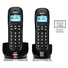 more details on Binatone Vesta Cordless Telephone with Answer Machine - Twin