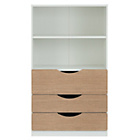 more details on Tolga 3 Drawer Bookcase - Oak.