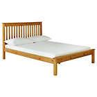 more details on Aspley Small Double Bed Frame - Oak Stain.