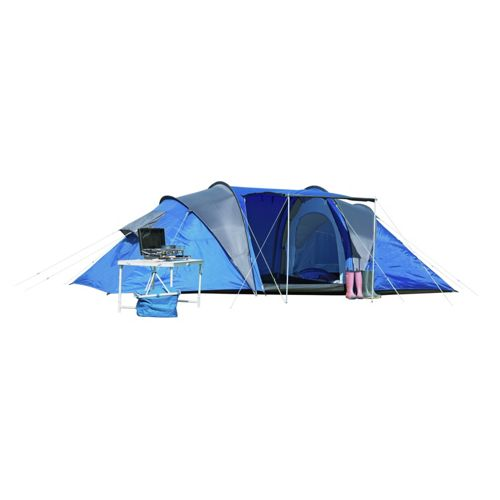 ProAction 6 Man 2 Room Tent