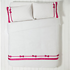 more details on Alice Bow Pink Bedding Set - Double.