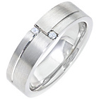 more details on Tungsten Cubic Zirconia 6mm Wedding Ring.
