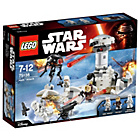 more details on LEGO Star Wars Hoth Attack Playset - 75138.
