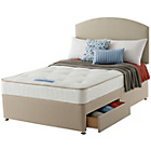 more details on Sealy Revital Tufted Backcare Edge Double 2 Drw Divan Bed.