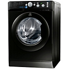 more details on Indesit Innex XWD 71452X K Washing Machine - Black