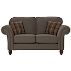 more details on Heart of House Windsor Fabric High Back Regular Sofa - Mink.