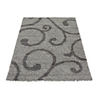 more details on Verve Swirl Rug 160x230cm - Grey.