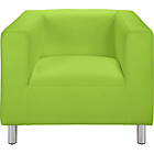 more details on ColourMatch Moda Fabric Chair - Apple Green.