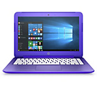 "more details on HP Stream 13"" Celeron 2GB 32GB SSD Laptop - Purple."