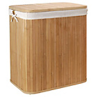 more details on Heart Of House Bamboo Square Laundry Hamper.
