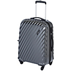 more details on Go Explore Ultra Light 4 Wheel Hard Case - Medium.